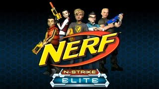 NERF FIRST PERSON SHOOTER VIDEO GAME?! (Nerf N-Strike Elite Gameplay)
