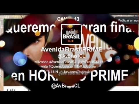 Campaña Avenida Brasil en HORARIO PRIME @AvBrasilCL