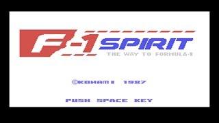 F-1/A-1 Spirit (MSX, SCC) - Street Collection (Oscilloscope View)