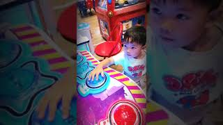 Zach's playtime at City Mall Dumaguete