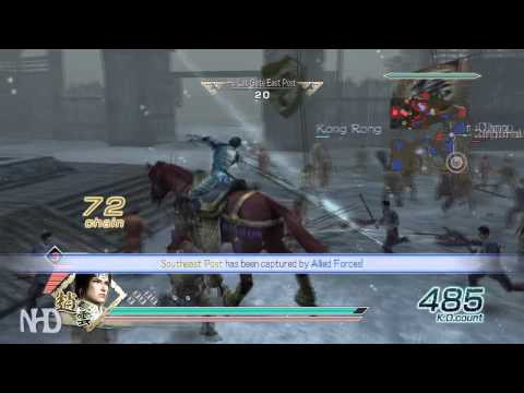 Let's Play Dynasty Warriors 6 Zhao Yun(Shu pt1) Battle of Hu Lao Gate