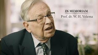 In memoriam prof. dr. W.H. Velema