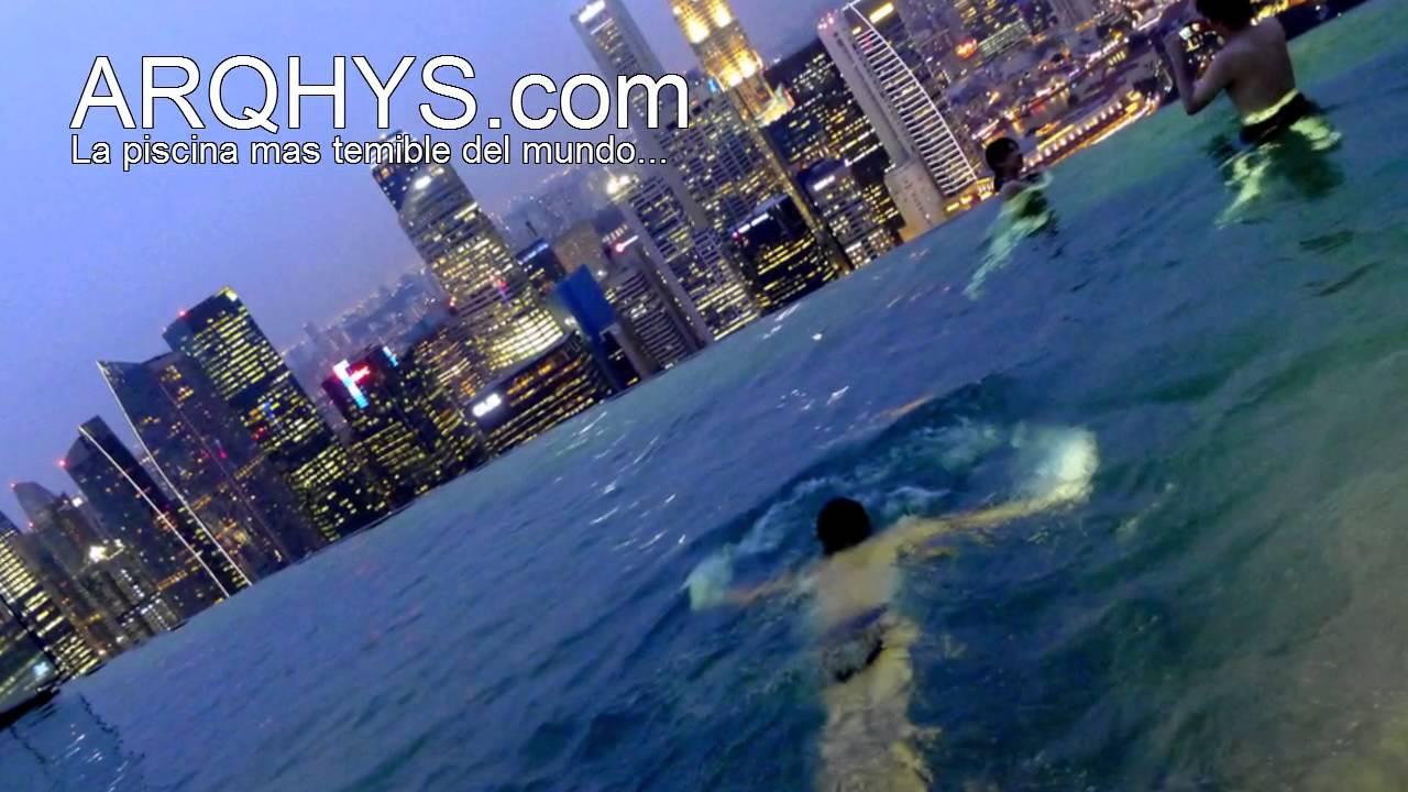 Las piscinas mas peligrosas del mundo youtube for Piscinas del mundo