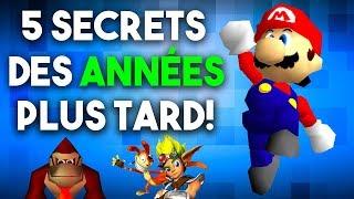 5 SECRETS JEUX VIDÉO DÉCOUVERTS DES ANNÉES PLUS TARD!  from Conkerax