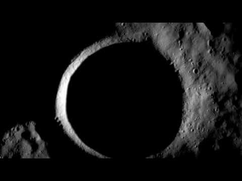 Shackleton Crater at the Moon's South Pole, In Total Darkness -May Have Water Ice | NASA