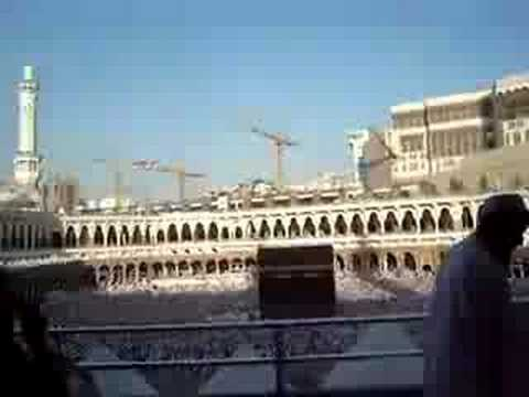 Umrundung der Kaaba - Circling Kaba in Mekka Video from 2007