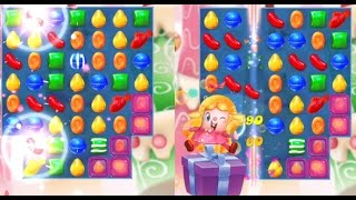 NEW!! Candy Crush Friends Saga 6-10 Gameplay Review