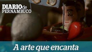 Mestre Cunha e os brinquedos artesanais de madeira