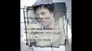 Watch Enrique Iglesias Miente video