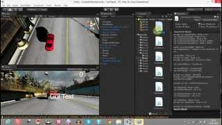 Game Creation Tutorial - 5: Unity3d Car Game (Speed Indicator)