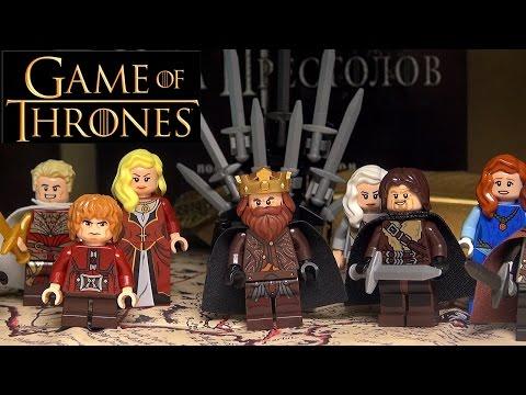 Обзор LEGO Игра престолов - Самоделки Лего минифигурки - Оружие меч Игры престолов - LEGO Самоделка