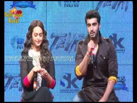Trailer launch of Sonakshi Sinha & Arjun Kapoor's film ''Tevar''   2