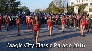 Tri Cities @ Magic City Classic Parade 2016 VS Center Point and Shiloh