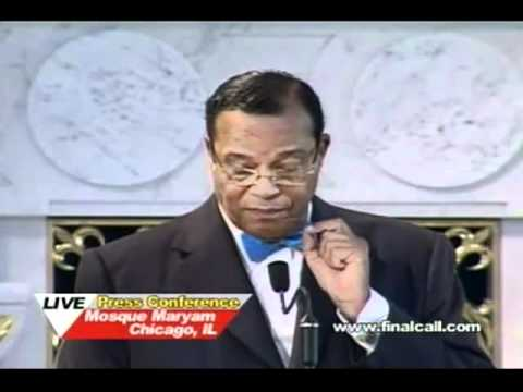 Farrakhan addresses attack on Libya, warns of catastrophe headed for America