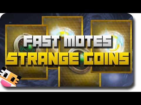 Strange coins amp fast motes of light how to make amp do everything