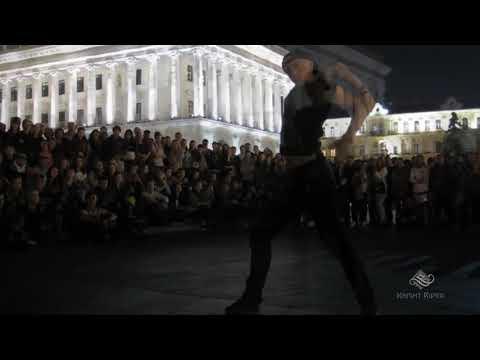 Танцевальные батлы Крещатика,Вечерний Киев часть17 - Dance Battles Khreshchatyk,Kiev Evening part17