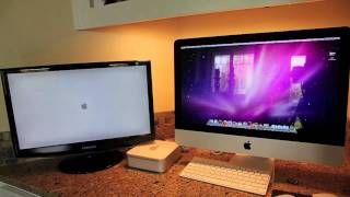 New Quad Core I5 21.5 iMac vs Core2Duo Mac Mini_ Startup
