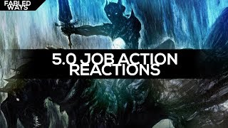 FFXIV - 5.0 Job Actions [REACTION]