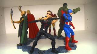 The Avengers - The Avengers Movie Series Walmart Exclusive figures - ENGLISH