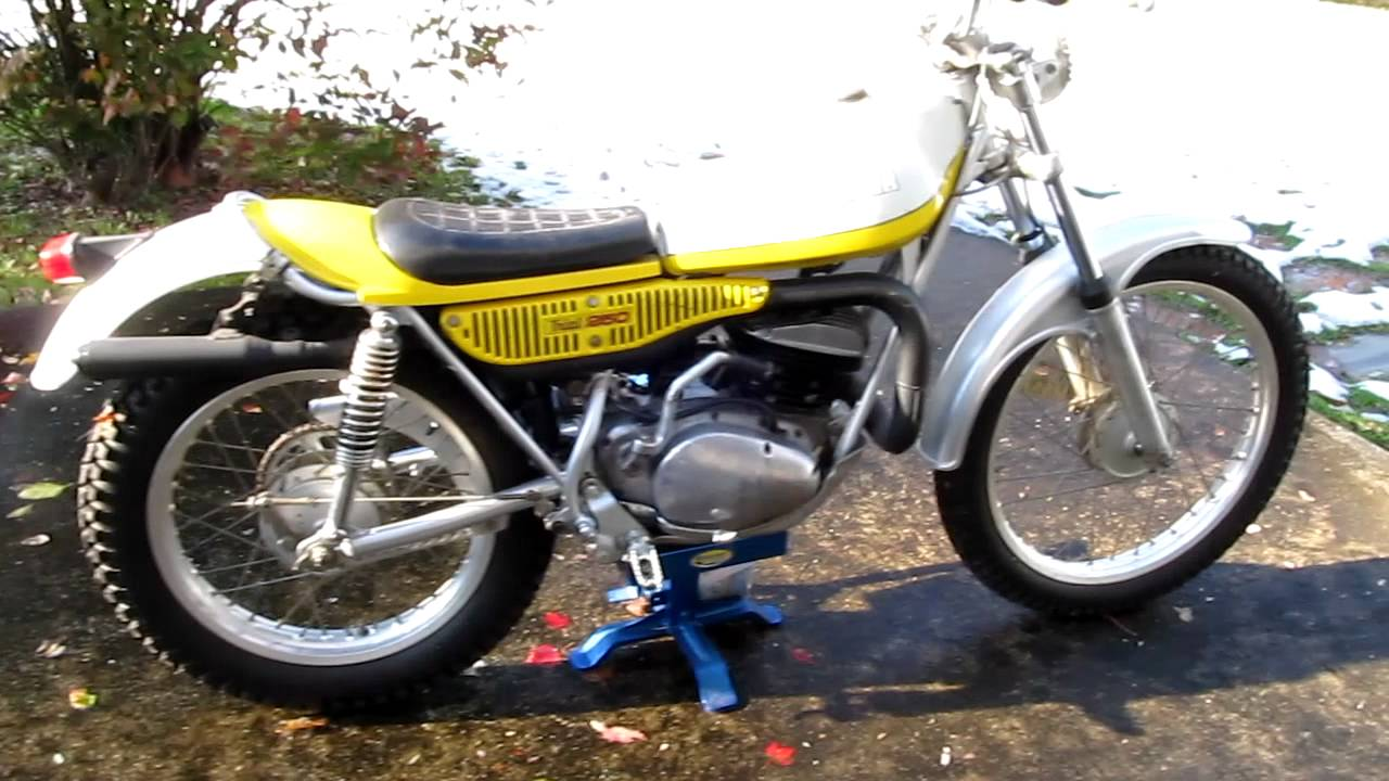 This is sold 1974 yamaha ty 250 ty250 vintage trials for Yamaha 250 scrambler for sale