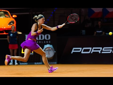 2016 Porsche Tennis Grand Prix Second Round | Petra Kvitova vs Monica Niculescu | WTA Highlights