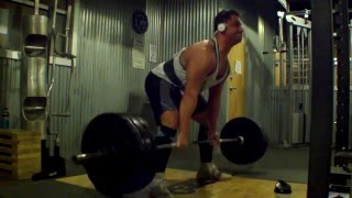 Boring but big week 3 OHP and deadlifts