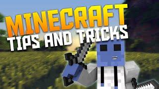 Minecraft: TEN EPIC TIPS & TRICKS! (Minecraft Tips & Tricks)