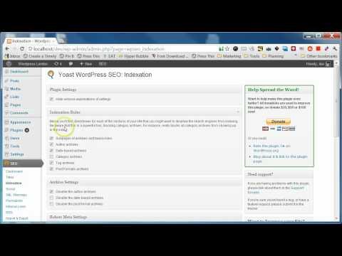Yoast SEO Plugin Configuration