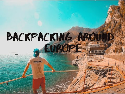 One month of backpacking around Europe (GoPro, 1080P)