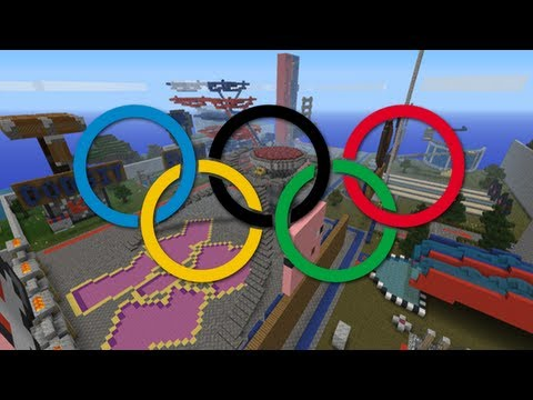 Minecraft Yog-Olympics Gawley (Kazakhstan) Vs. EzMoney (Fiji) Pig-Rodeo, Dodge It, and Kayaking