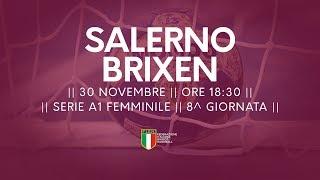 Serie A1F [8^]: Salerno - Brixen 26-23