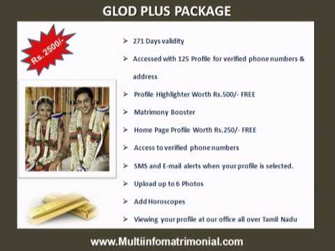 Tamil Matrimony Site - Multiinfomatrimonial.com Packages
