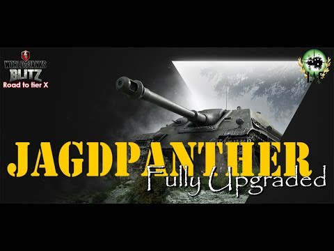 Jagdpanther Fully Upgraded | Road to tier X German Tank Destroyers | WoT Blitz