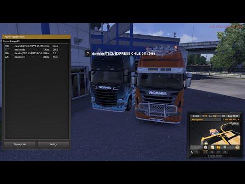 convoy con dani de bienvenida a empresa [TSCL-EXPRESS-CHILE]