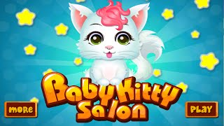 Baby Kitty Care Salon - Animal Game