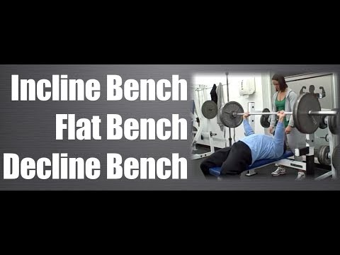 Decline Press Without Bench Flat Bench vs Decline Bench