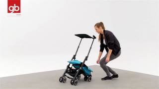 Tutorial Pockit Buggy - The 'world's smallest folding stroller'