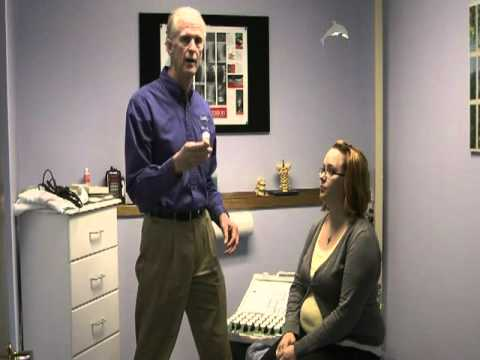 Dr. Pat Dougherty demonstrates muscle testing, also know as Applied Kinesiology, in his Spokane, Washington chiropractic office.  Visit http://www.spokane-chiropractic.com to set up an appointment.