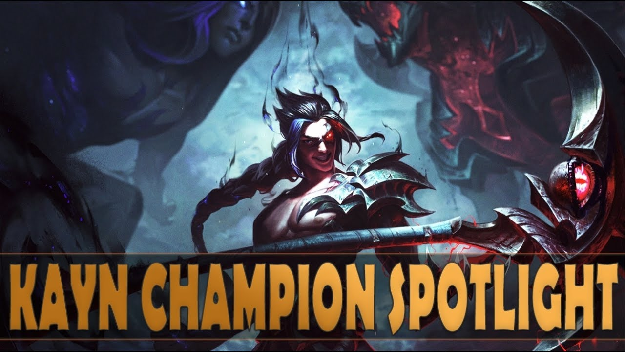 KAYN CHAMPION SPOTLIGHT - League of Legends