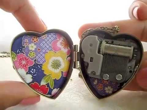 Music Box Locket