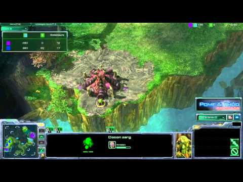 (HD108) Tutorial Zerg - Inbase Spinecrawler Push - Starcraft 2 Replay [FR]