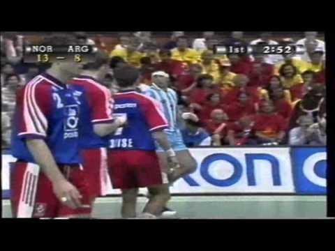 Håndball-VM 1997:  Norge - Argentina (25  mai 1997)