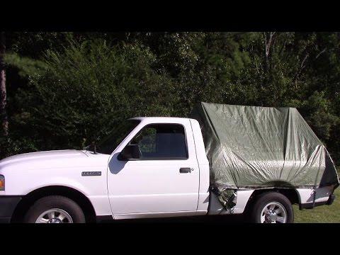diy truck tent youtube