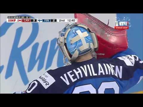 МЧМ  ¼ финала по хоккею 2016 Финляндия – Канада. (Голы )
