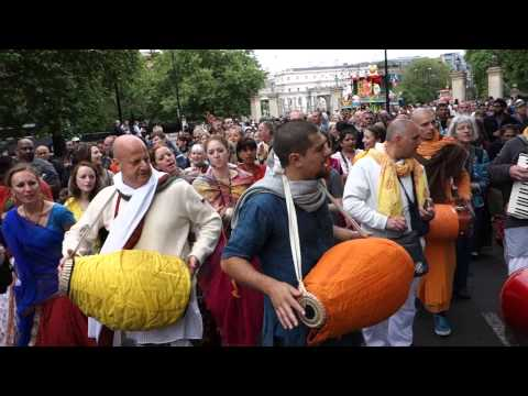London Rathayatra Kirtan 9th June, 2013 (full Hd) video