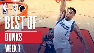 NBA's Best Dunks | Week 7