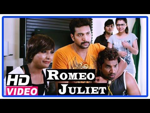 Romeo Juliet Tamil Movie   Scenes   Hansika searching girl for Jayam Ravi