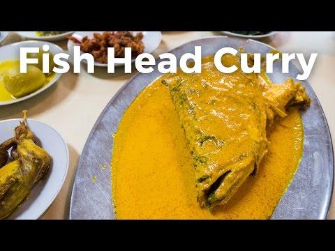 Stunning Fish Head Curry at Rumah Makan Medan Baru