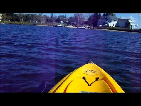 kayak with Trolling Motor install for Hobie Outback kayak