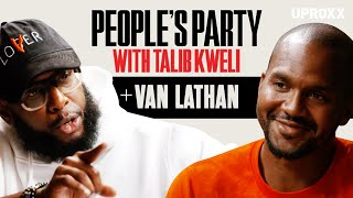 Talib Kweli And Van Lathan Discuss TMZ, Kanye West, Self-Improvement & Gun Activism | People's Party
